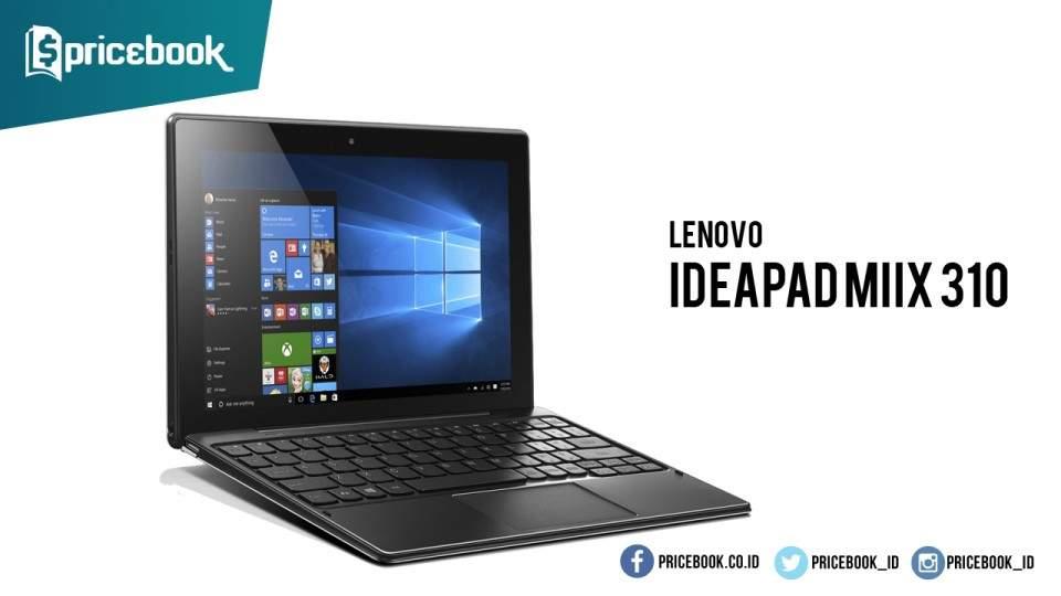 Lenovo Hadirkan Tablet Penantang Microsoft Surface, Ideapad MIIX 310