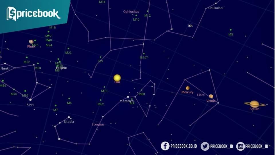 Aplikasi Astronomi Android Untuk Mengamati Gerhana Matahari