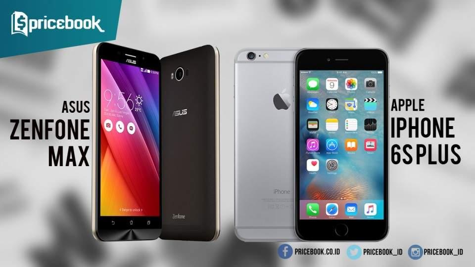 Video Adu Daya Tahan Baterai Asus ZenFone Max vs iPhone 6s Plus