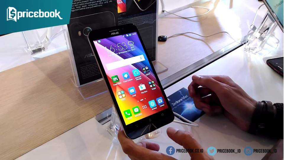 Asus Zenfone Max: Smartphone dengan Baterai Monster Harga Cuma Rp2,6 Juta