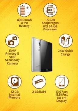Perbandingan Zenfone Max Vibe P1 Turbo