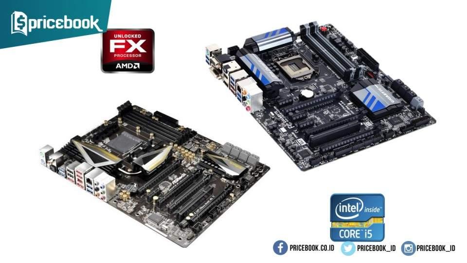 Cara Mudah Memahami Perbedaan Motherboard Intel dan AMD