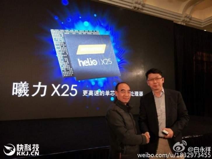 Chipset Helio X25