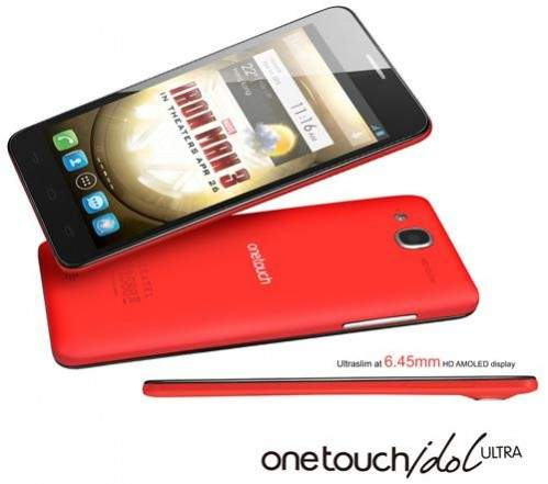 Alcatel One Touch Idol Ultra Iron Man Edition