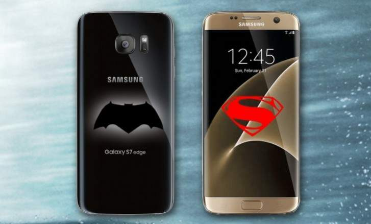 Samsung Galaxy S7 Batman vs Superman