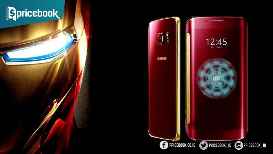 6 Handphone Edisi Super Hero: Dari Iron Man, Batman, Superman Hingga AntMan