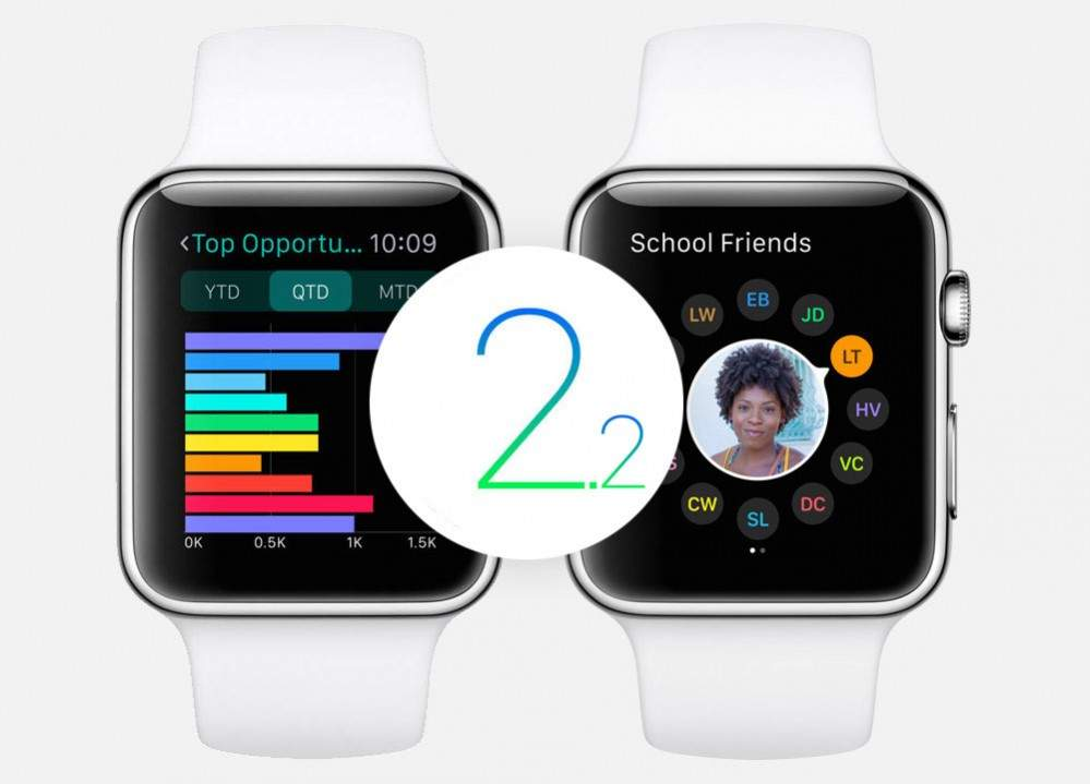 Watch OS 2.2
