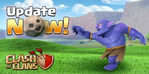 Update Clash of Clans