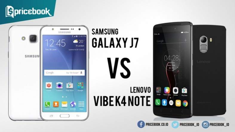 Lenovo K4 Note Vs Samsung Galaxy J7