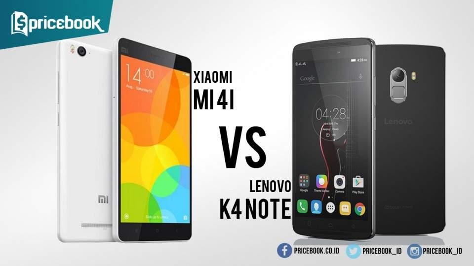 Adu Android 2 Jutaan: Xiaomi Mi 4i vs Lenovo K4 Note