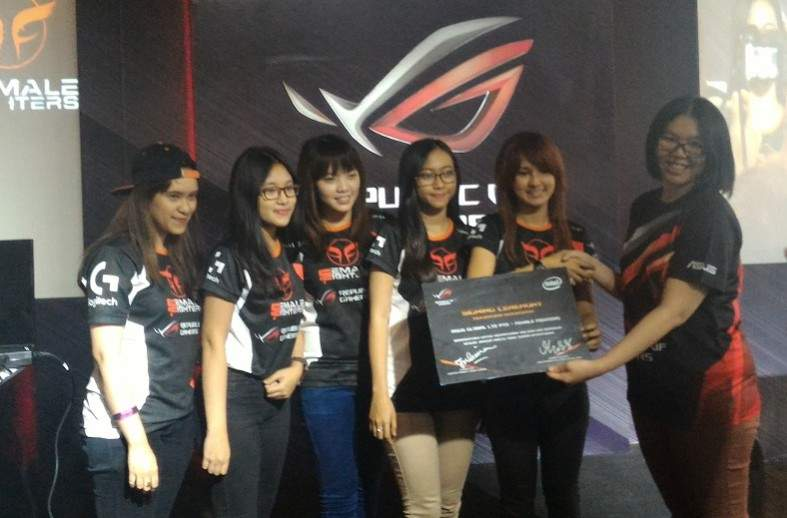 Female Fighters Asus