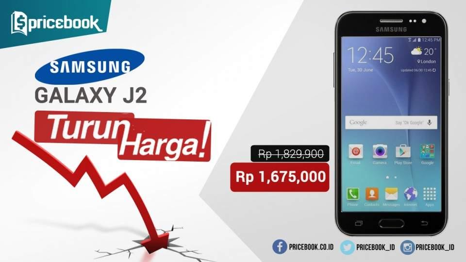 Samsung Galaxy J2 Turun Harga, Pas Buat Budget Mepet