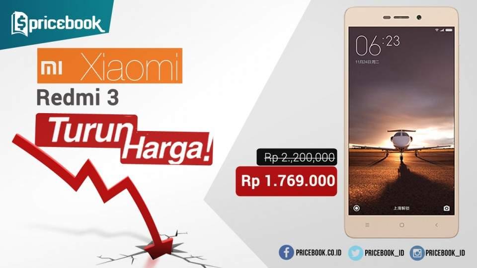 Xiaomi Redmi 3 Kembali Turun Harga, Buruan Dibeli!