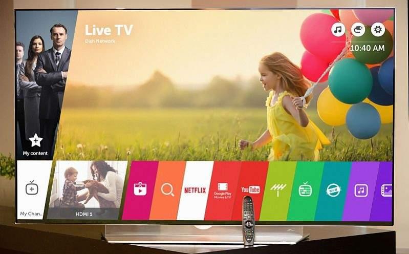 LG 4K OLED TV E