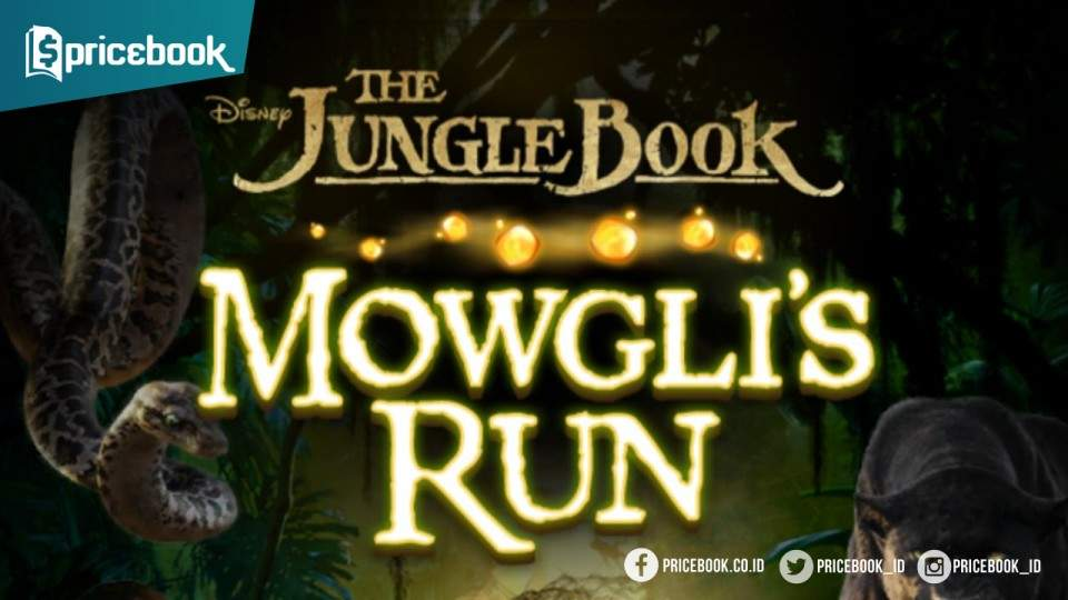 Game Disney The Jungle Book: Mowgli's Run Dashes Hadir di iOS dan Android