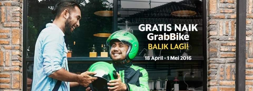 Promo Gratis GrabBike Menyambut Hari Angkutan Nasional