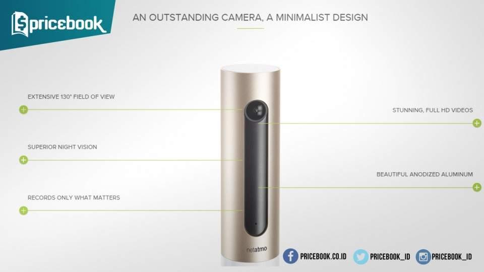 Netatmo Welcome, Kamera Pengintai dengan Fitur Face Recognition