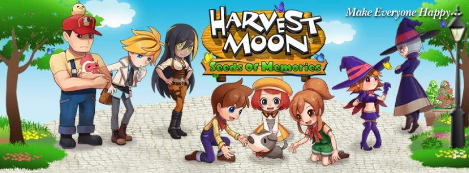 Game Harvest Moon Seeds of Memories Sudah Hadir Di Android