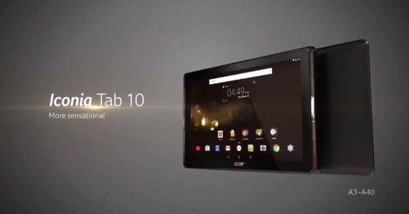 Iconia Tab 10 A3-A40