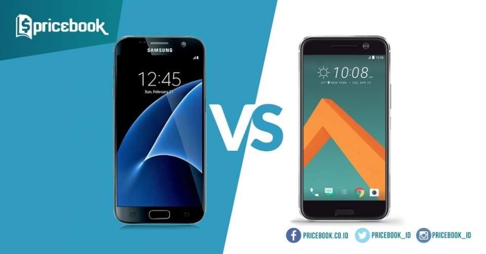 HTC 10 VS Samsung Galaxy S7, Mana Yang Lebih Unggul?