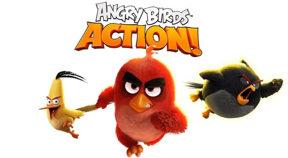 Angry Birds Action! Hadirkan GamePlay Berbeda dengan Sentuhan PinBall