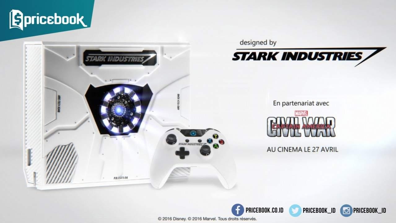 Microsoft Xbox One Edisi Captain America