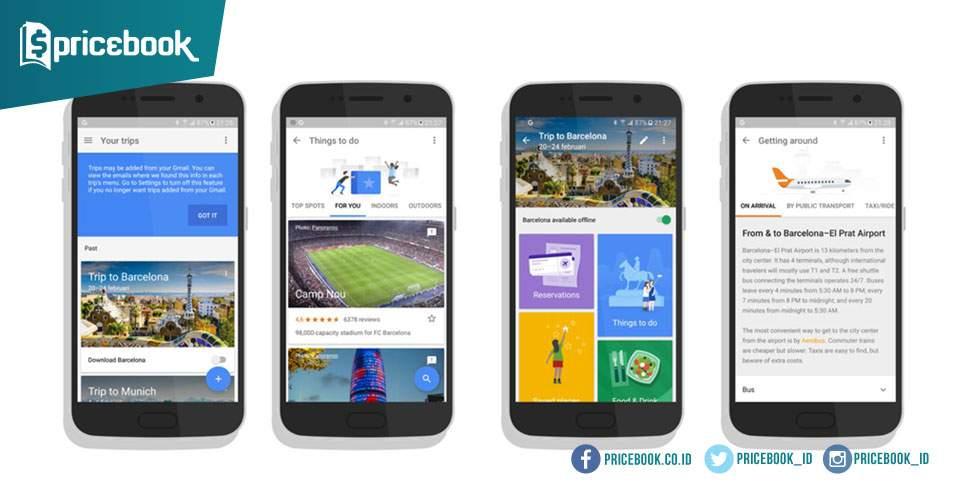 Aplikasi Google Trips Bantu Travellers Kenali Lokasi Tujuan Sebelum Berlibur