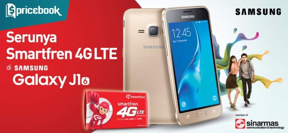 Paket Bundling Smartfren-Samsung Galaxy J1 (2016), Berapa Harganya?