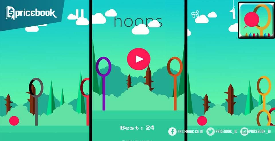 Game Hoops Jumper, Sama Menyebalkannya dengan Flappy Bird
