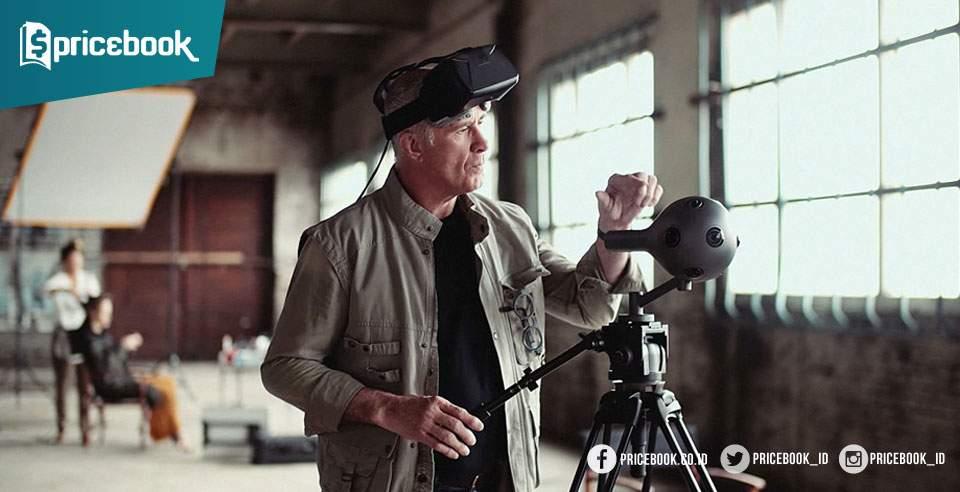 Tiga Kamera 360 Derajat Terbaik: Nokia Ozo, Lytro Immerge dan Vuze