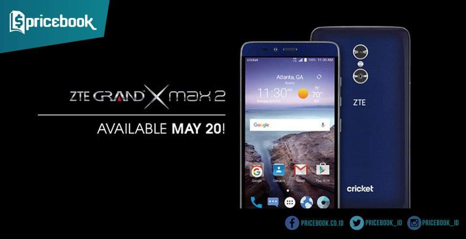 ZTE Grand X Max 2 Dirilis dengan Dua Kamera Belakang