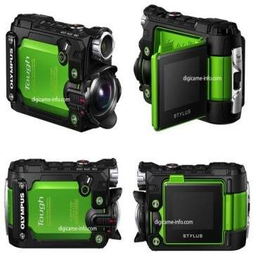 Olympus Stylus TG-Tracker, Action Camera Tahan Air
