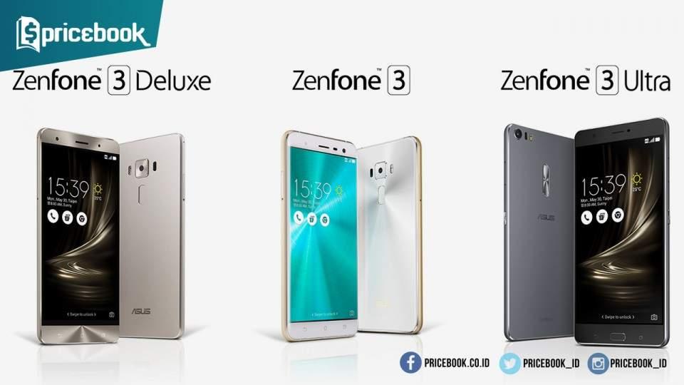 ASUS Zenfone 3 Resmi Diluncurkan, Harga Mulai dari 3 Juta-an