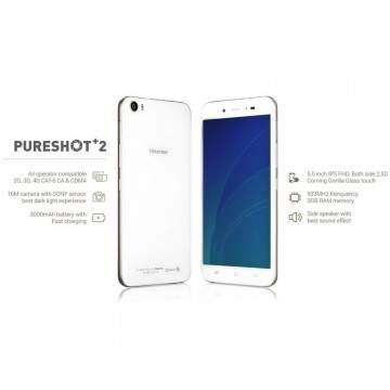 Hisense Pureshot Plus 2 dan Kingkong 2 Dirlis Dalam Indonesia Cellular Show 2016
