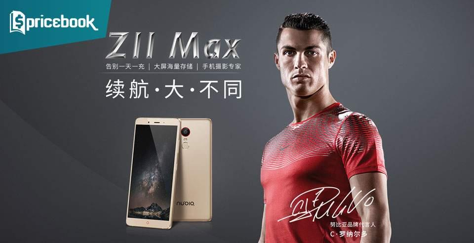 ZTE Nubia Z11 Max Dirilis dengan Baterai 4000 mAh Pesaing Xiaomi Mi Max