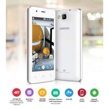 Evercoss Winner T 4G LTE Dirilis dengan Teknologi VoLTE dari Smartfren