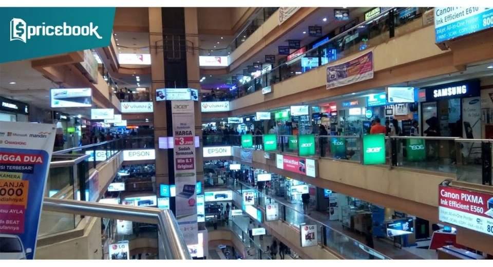 Rekomendasi Toko Laptop Murah Di Mangga Dua Mall Pricebook