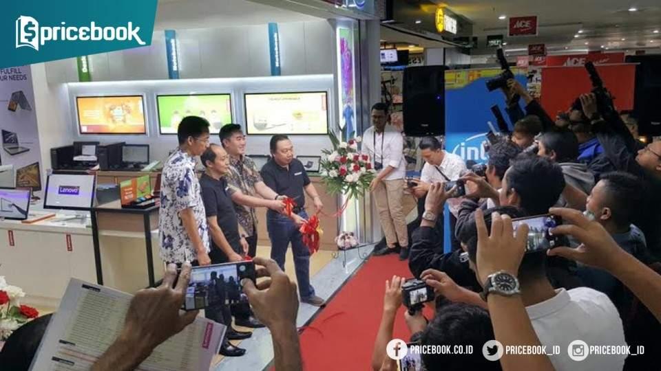 Paradise Store Menjadi Mitra Distribusi Lenovo Flagship Store Bandung