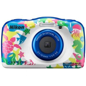 Nikon Coolpix W100, Kamera Tahan Air Desainnya Lucu