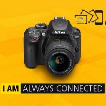 Nikon D3400, Pindahkan Foto Cukup Pakai Bluetooth ke Smartphone