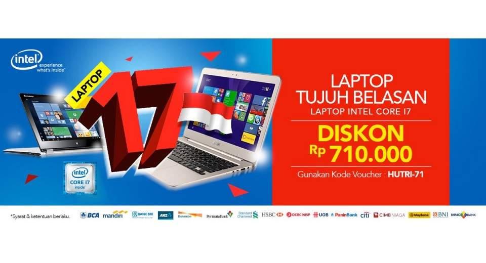 Promo Tujuh Belasan Laptop Intel Core I7 Di Blilbli