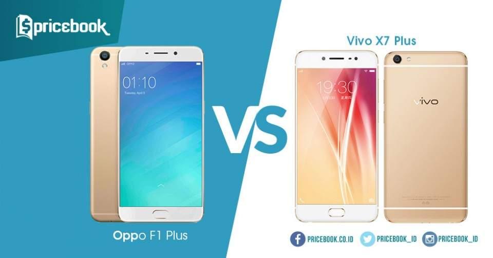 Duel Ponsel Selfie, Oppo F1 Plus dan Vivo X7 Plus
