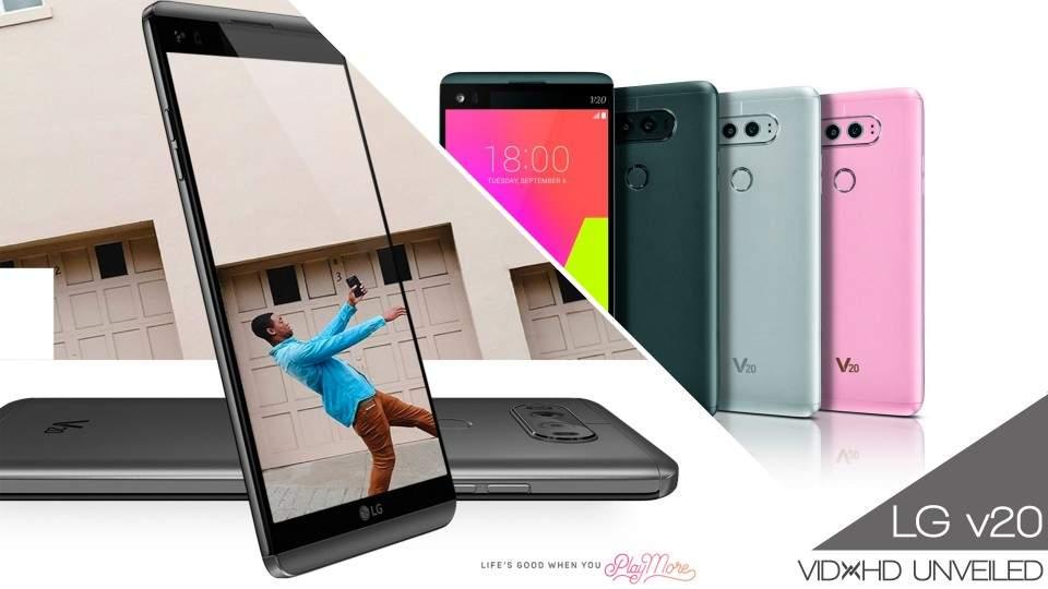 LG V20 Resmi Dirilis Dengan Android 7.0 dan Dual Kamera Belakang