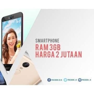 Kumpulan Smartphone RAM 3 GB dengan Harga 2 Jutaan