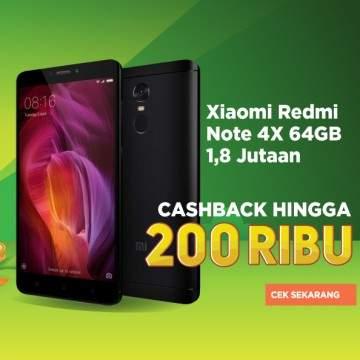 9 HP RAM 3GB Termurah Dengan Cashback Hingga 200 Ribu di Tokopedia