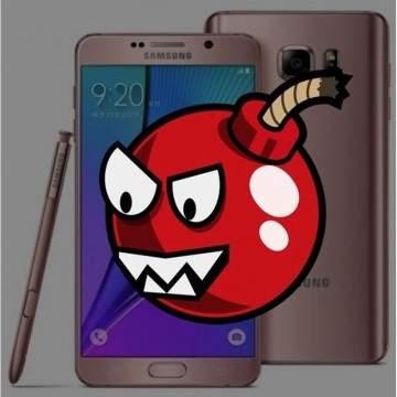 Samsung Galaxy Note 7 Versi Pengganti Meledak, Disusul  iPhone 6 Plus