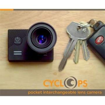 Cyclops Pocket: Action Camera 4K Terkecil dengan Interchangeable Lens