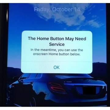 Tombol Home iPhone 7 Bermasalah, Apple Hadirkan Tombol Home Virtual
