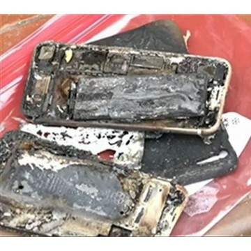 iPhone 7 Meledak dan Membuat Sebuah Mobil Terbakar