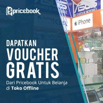 Pricebook Bagi-bagi Voucher Diskon Belanja Murah di Toko Offline